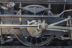 Details of old steam locomotive Royalty Free Stock Photography