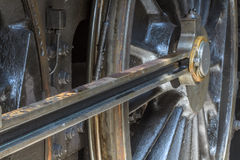Details of old steam locomotive Royalty Free Stock Photos