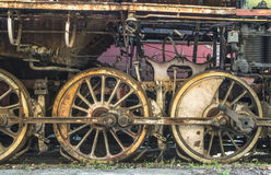 Details of an old steam locomotive Stock Photos