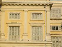 Old-style buildings in Singapore Royalty Free Stock Photography