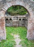 Details in the old town of Ostia, Rome, Italy Royalty Free Stock Photo