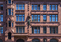 Details of old typical German architecture in Berlin Stock Image