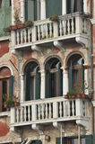 Details Of An Old Venetian Building Royalty Free Stock Image