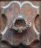 Details of an old wooden door. Stock Photo