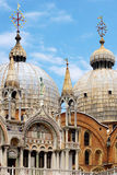 Details ornate Doge's Palace. Venice, Italy Royalty Free Stock Photos