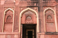 Details of a palace, Agra fort, India Stock Images