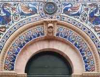 Details of Palace Velasquez. Royalty Free Stock Image