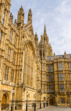 Details of the Palace of Westminster Royalty Free Stock Photos