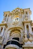 Details of Palacio de San Telmo Royalty Free Stock Image