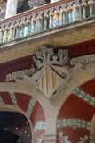 Details at Palau de la Música Catalana, Barcelona Royalty Free Stock Photos