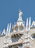 Details of palazzo Ducale, Venice, Italy-close up Stock Photos