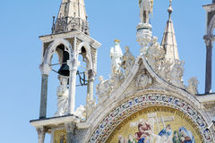 Details of palazzo Ducale, Venice, Italy-close up Royalty Free Stock Photo