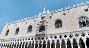 Details of palazzo Ducale, Venice, Italy-close up Stock Photo