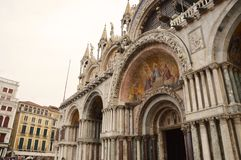 Details of Palazzo Ducale in Venice, Italy Royalty Free Stock Image