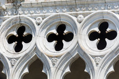 Details of palazzo Ducale, Venice, Italy Royalty Free Stock Photography