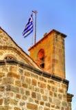 Details of Panagia Chrysaliniotissa Church - Cyprus Stock Image