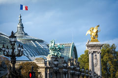 Details of Paris architecture Stock Photos