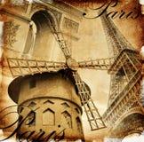 details parisian Arkivbild