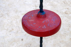 Details of a park. Details of a colorful playground with games Royalty Free Stock Images