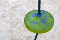 Details of a park. Details of a colorful playground with games Stock Image