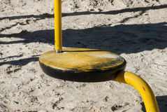 Details of a park. Details of a colorful playground with games Royalty Free Stock Photography