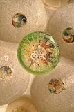 Details of Park Guell in Barcelona, Spain. Royalty Free Stock Photography