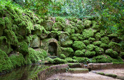 Details of Parque da Pena in Sintra Royalty Free Stock Image