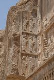 Details of Persepolis art Royalty Free Stock Image