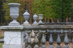 Details . Petergof Lower Park. Russia Stock Image