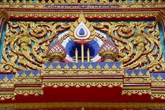 Details of Phuket Temple Royalty Free Stock Photo