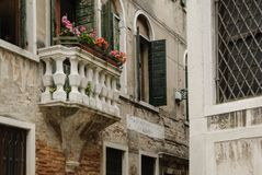 Details of the picturesque and romantic city of Venice Venezia, Italy Stock Photography