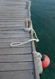 Details of a pier Royalty Free Stock Photography