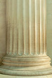 Details of a pillar and its architectural details Stock Photo