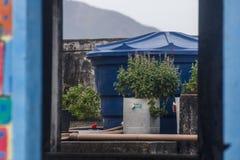 Details of pinto hill in Rio de Janeiro. Brazil stock image