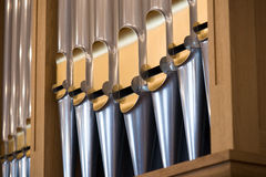 Details from a Pipe organ Stock Image