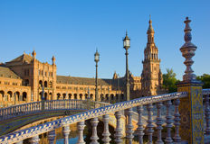Details of Plaza de Espa?a, Seville, Spain Royalty Free Stock Image