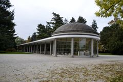 Details from Podebrady park Stock Photography
