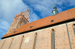 Details of Polish basilica Stock Photo