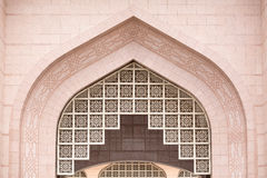 Details of Putra Mosque (Masjid Putra) at Putrajaya Malaysia Royalty Free Stock Photography