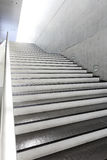 Details of railing and stairs. Close up and details of railing and stairs of a modern building Stock Photo