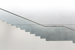 Details of railing and stairs Royalty Free Stock Image