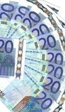 Details range banknotes Royalty Free Stock Image