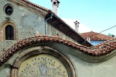 Details from Renaissance houses Royalty Free Stock Photography