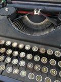Details of a retro typewriter Royalty Free Stock Image