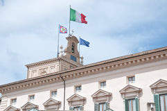 Details of the roof of the Quirinale, home of the president of t Royalty Free Stock Photography