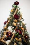 Details from a Christmas tree royalty free stock photography