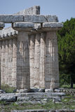 Details of the ruins of Paestum Stock Photography
