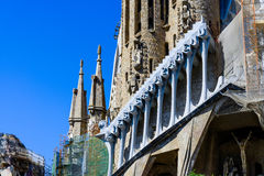 Details of Sagrada Familia Royalty Free Stock Photography