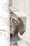 Details of Sagrada Familia, church  designed by Gaudi, Barcelona, Spain Royalty Free Stock Photo