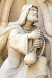 Details of Sagrada Familia, church  designed by Gaudi, Barcelona, Spain Stock Photo